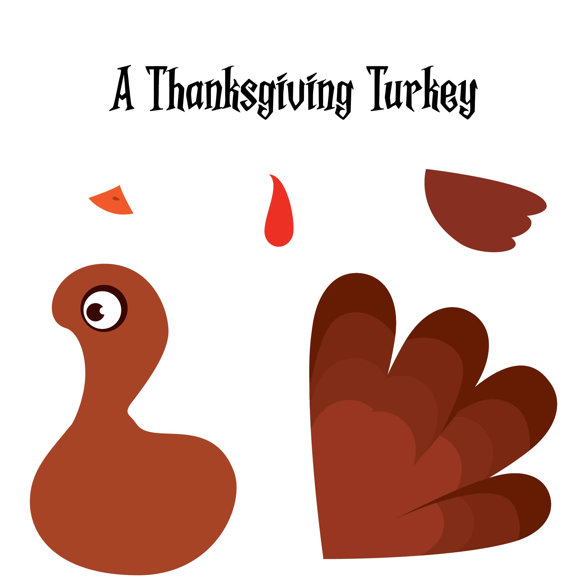 8 Best Images Of Printable Thanksgiving Crafts For