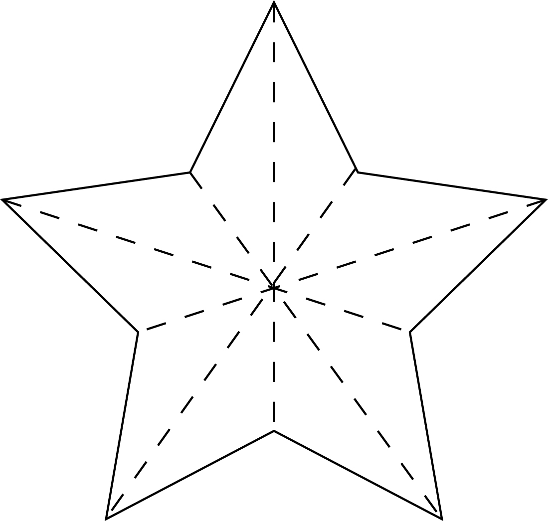 6 Best Images Of 3 Inch Printable Star Pattern