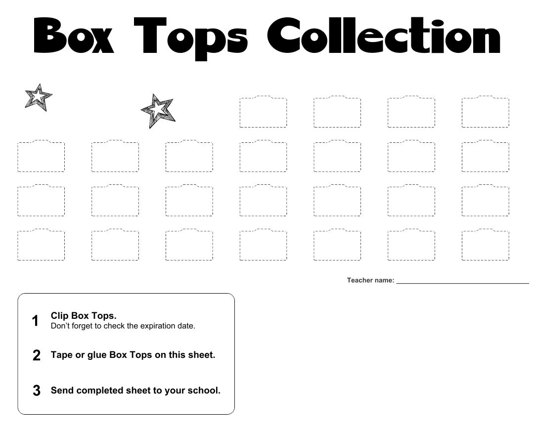 6 Best Images Of Halloween Box Top Collection Sheets