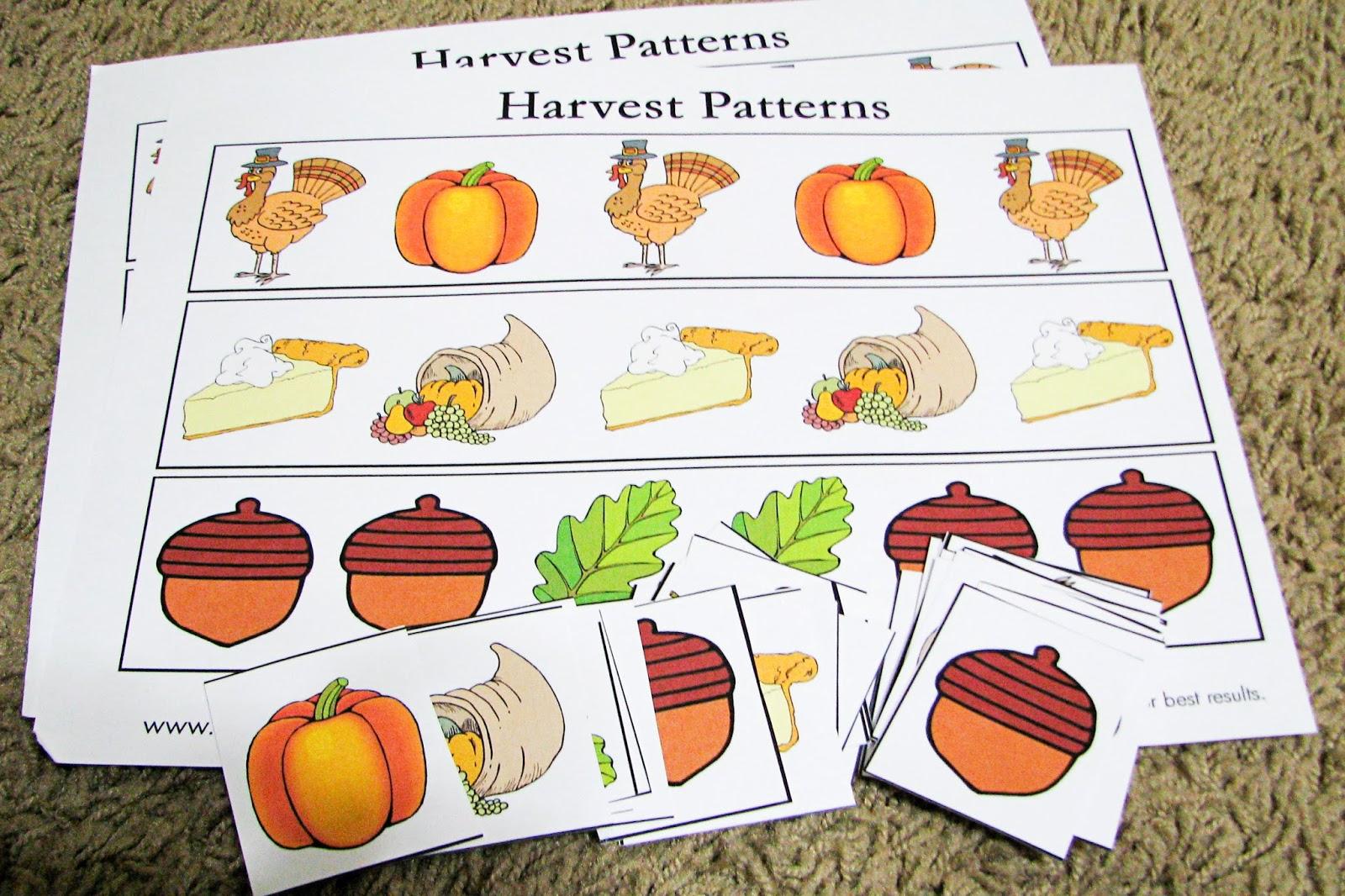 8 Best Images Of Preschool Thanksgiving Printable 3 Year