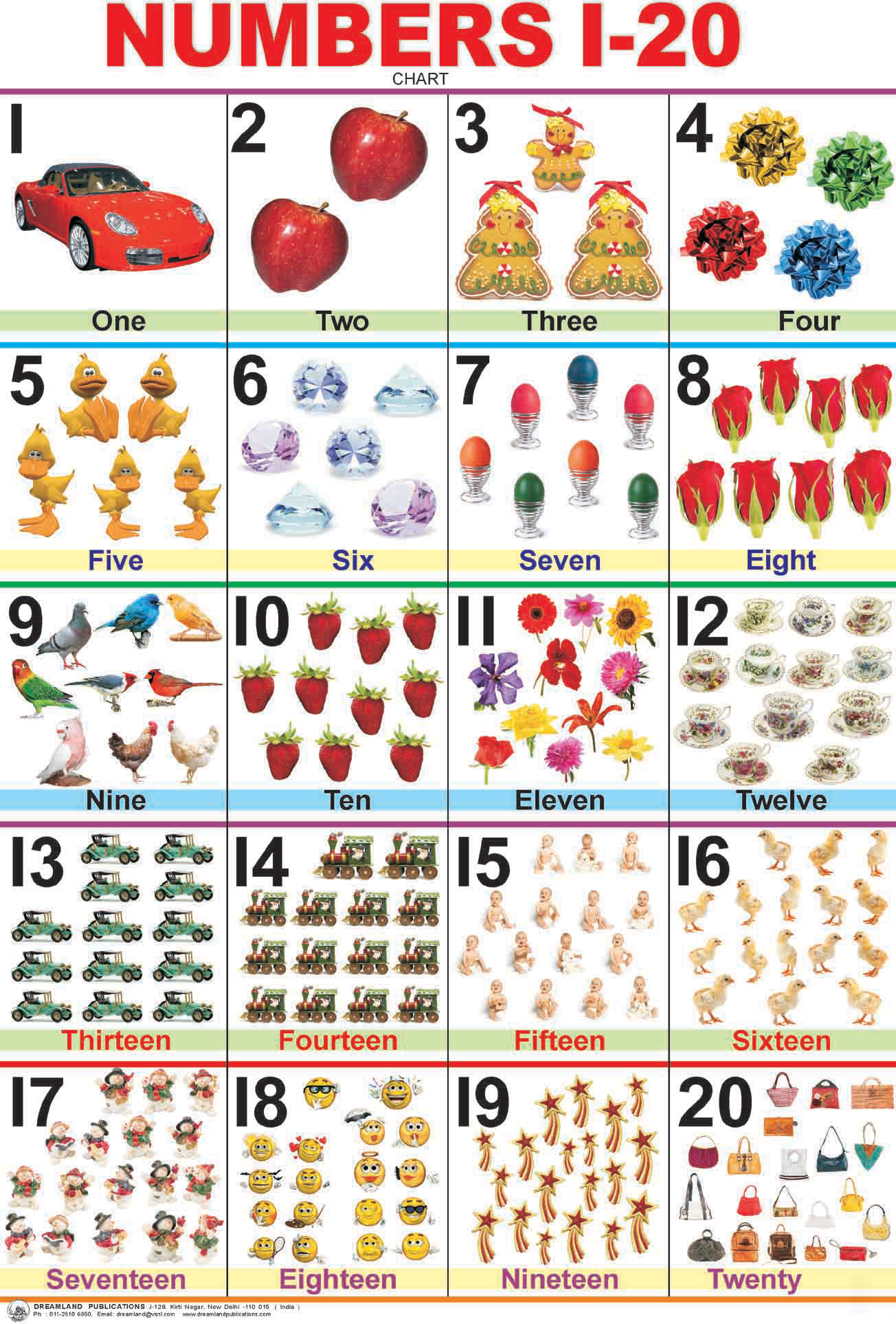 6 Best Images Of Printable Number Chart 1 25