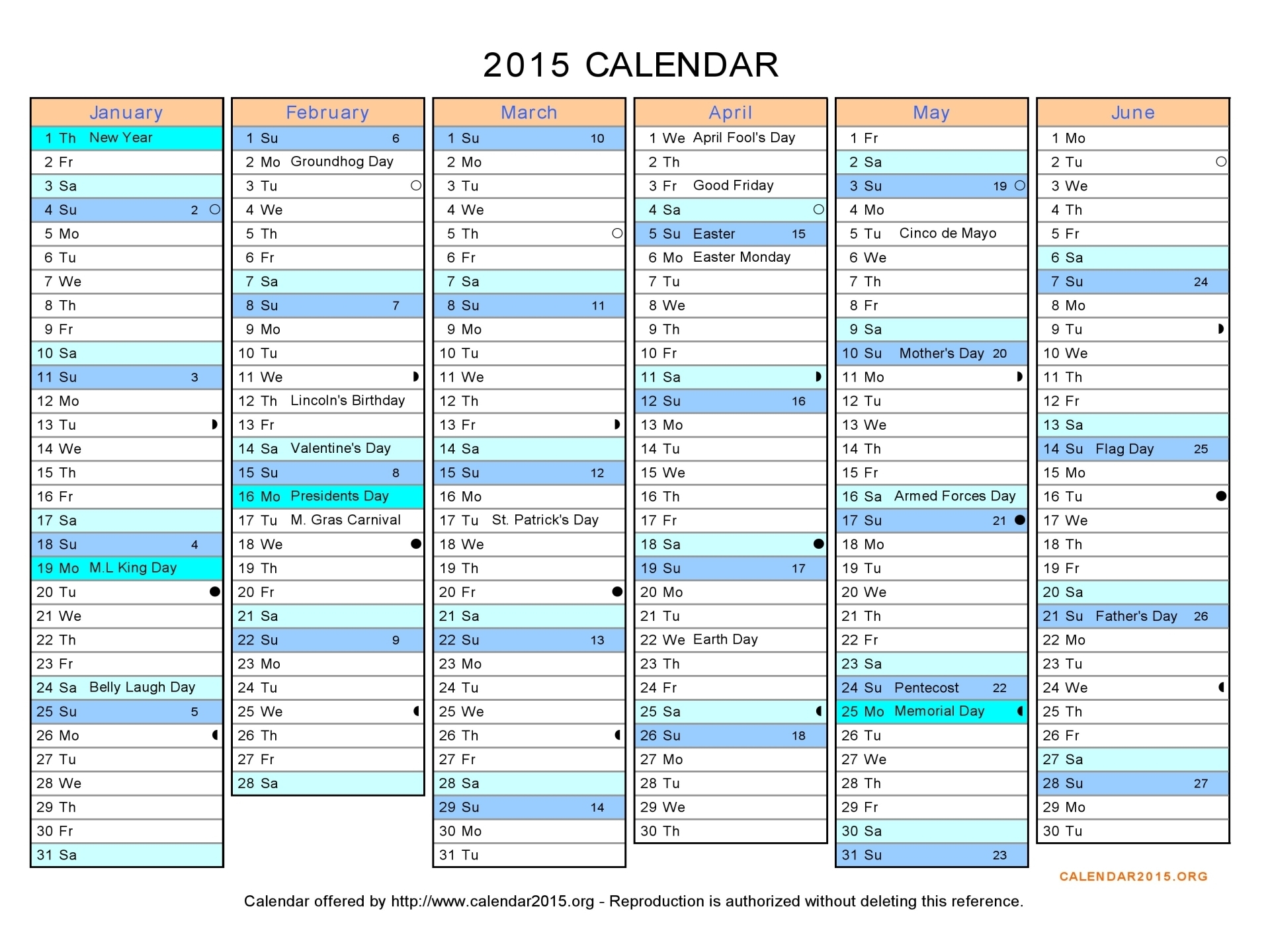 5 Best Images Of Printable 6 Month Calendar Template