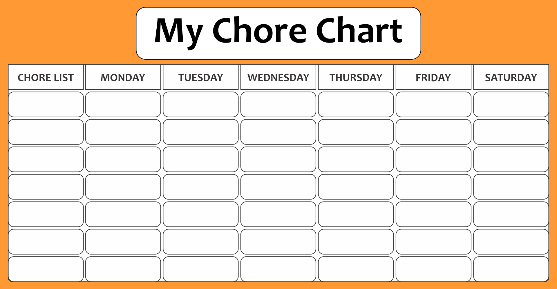 5 Best Images Of Printable Blank Chart With Lines