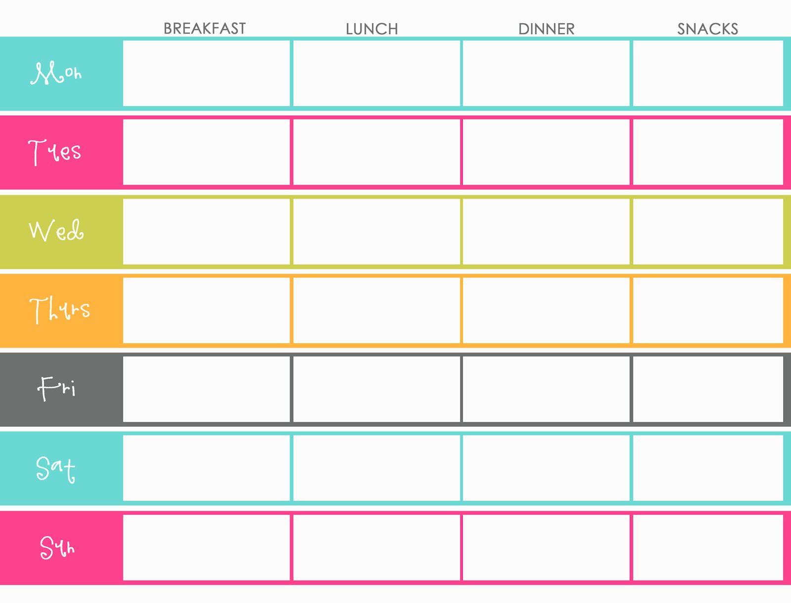 Planner Printable Images Gallery Category Page 2