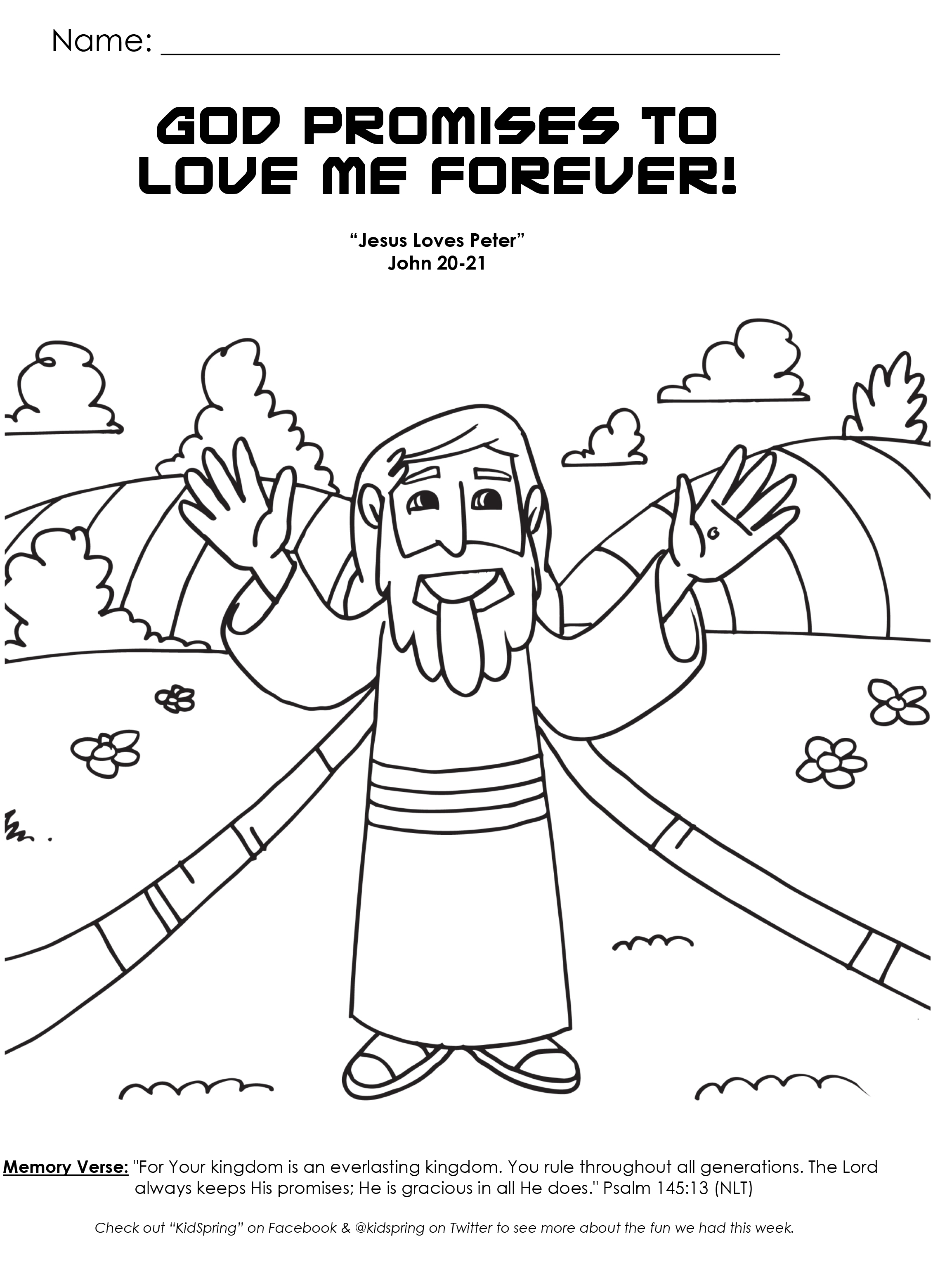 5 Best Images Of Gods Love Coloring Pages Printable