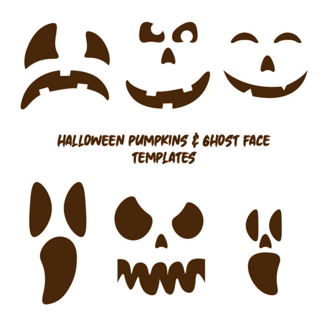 5 Best Images Of Ghost Face Template Printable