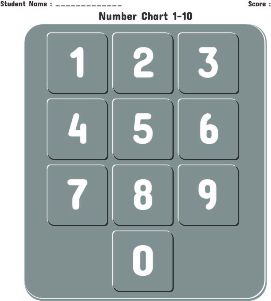 5 Best Images Of Printable Numbers 1 10 For Preschoolers