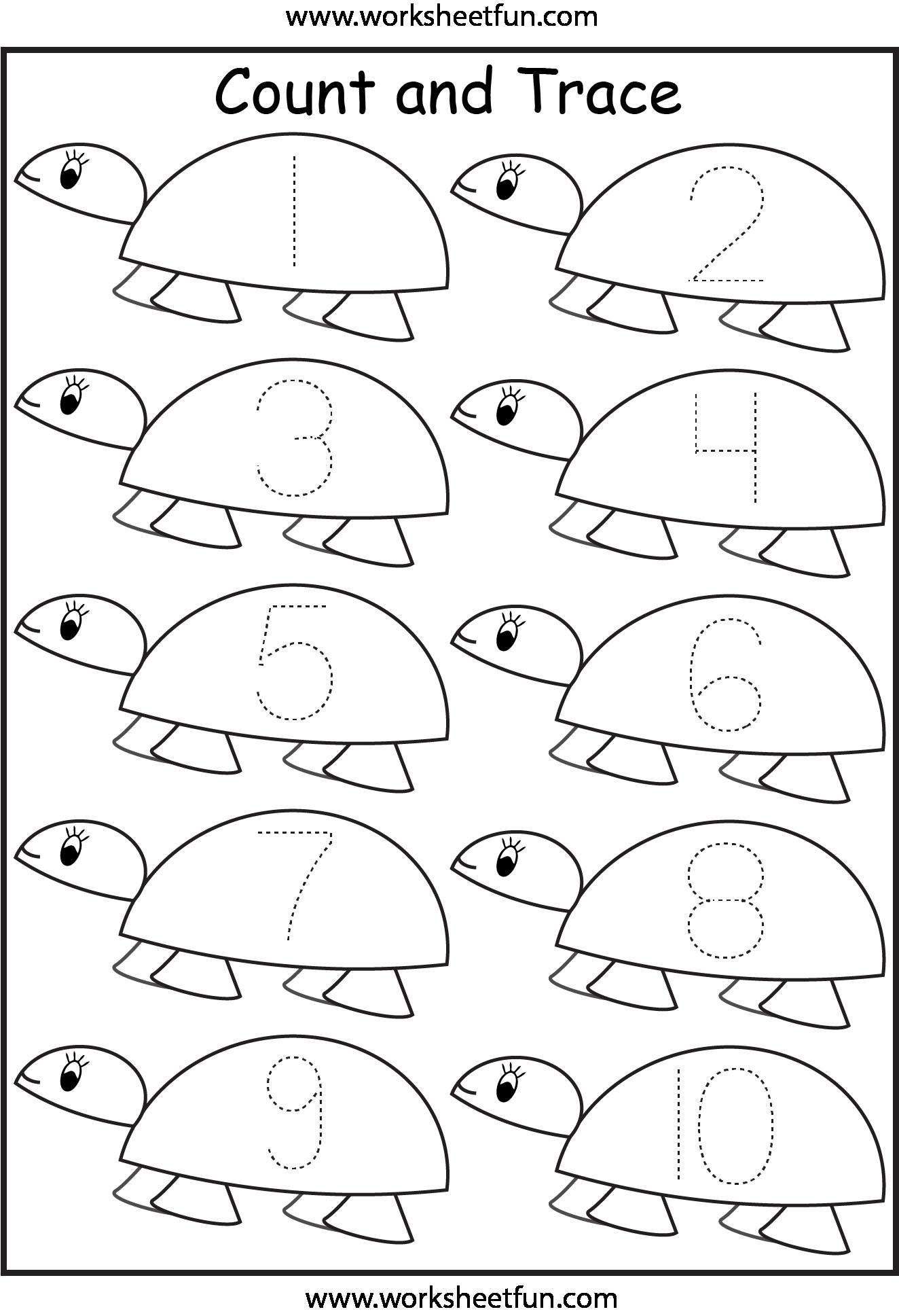 7 Best Images Of Free Printable Worksheets Numbers 1 10