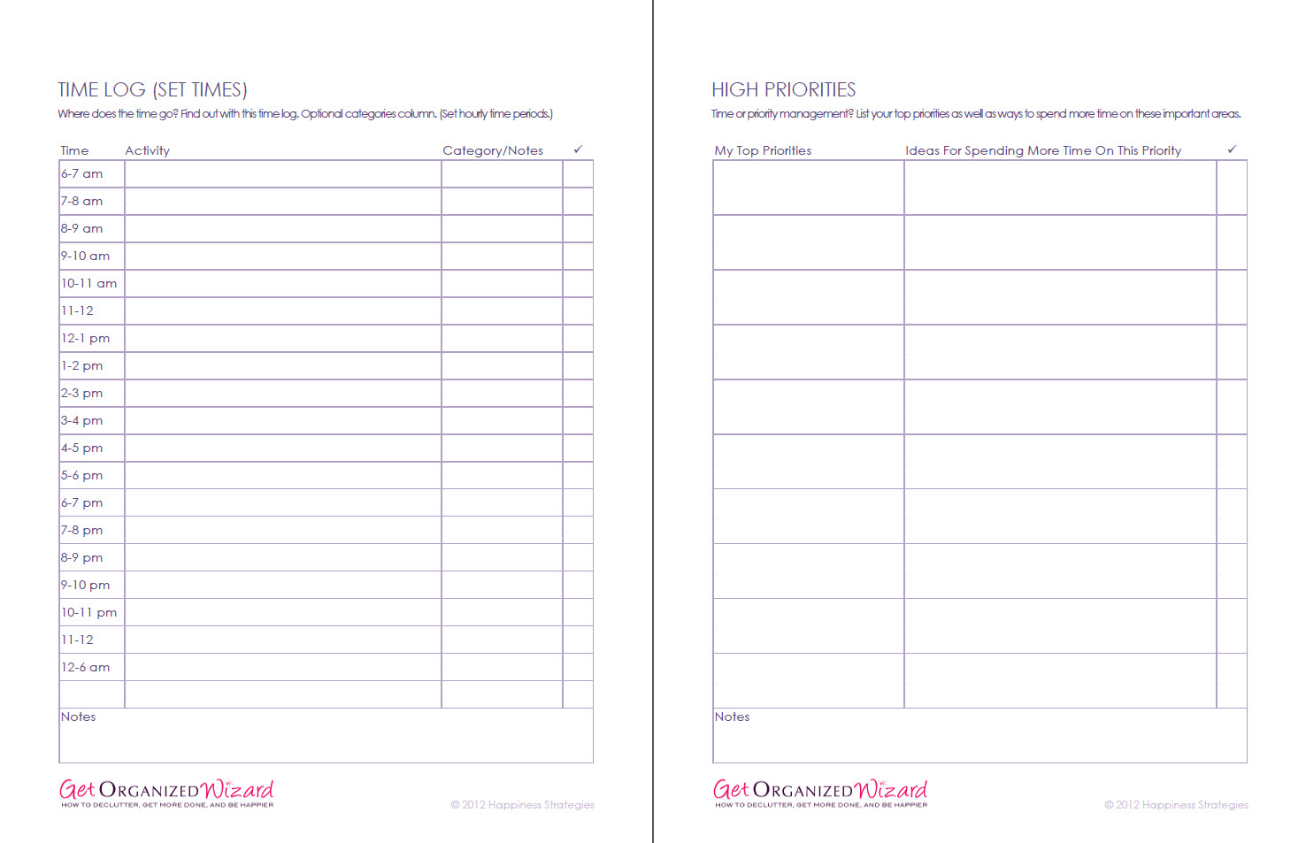 9 Best Images Of Printable Worksheets For Time Management