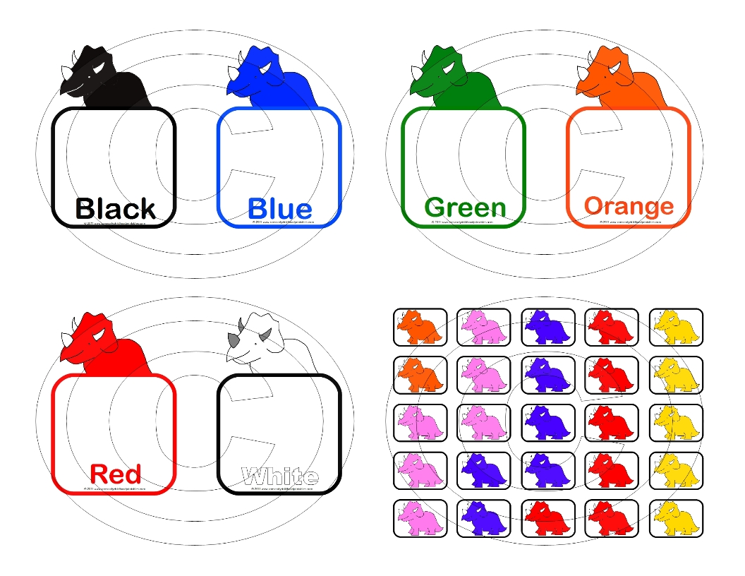 7 Best Images Of Color Matching Printables