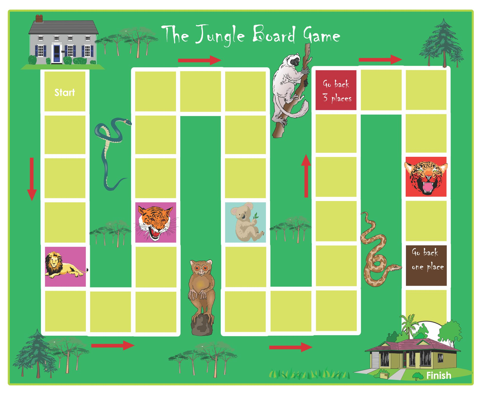 9 Best Images Of Life Board Game Printable Template