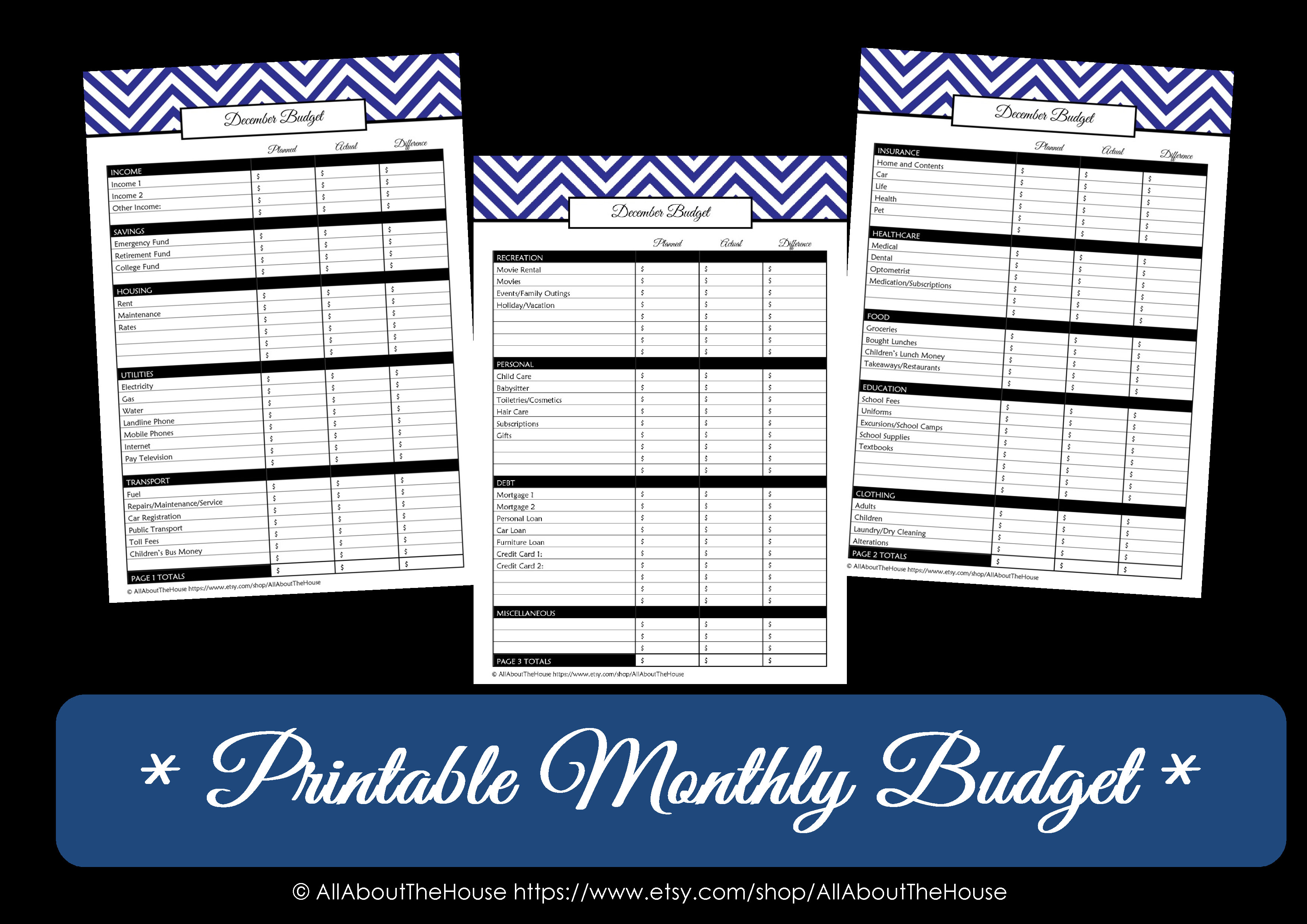 6 Best Images Of Free Calendar Printable Monthly Budget