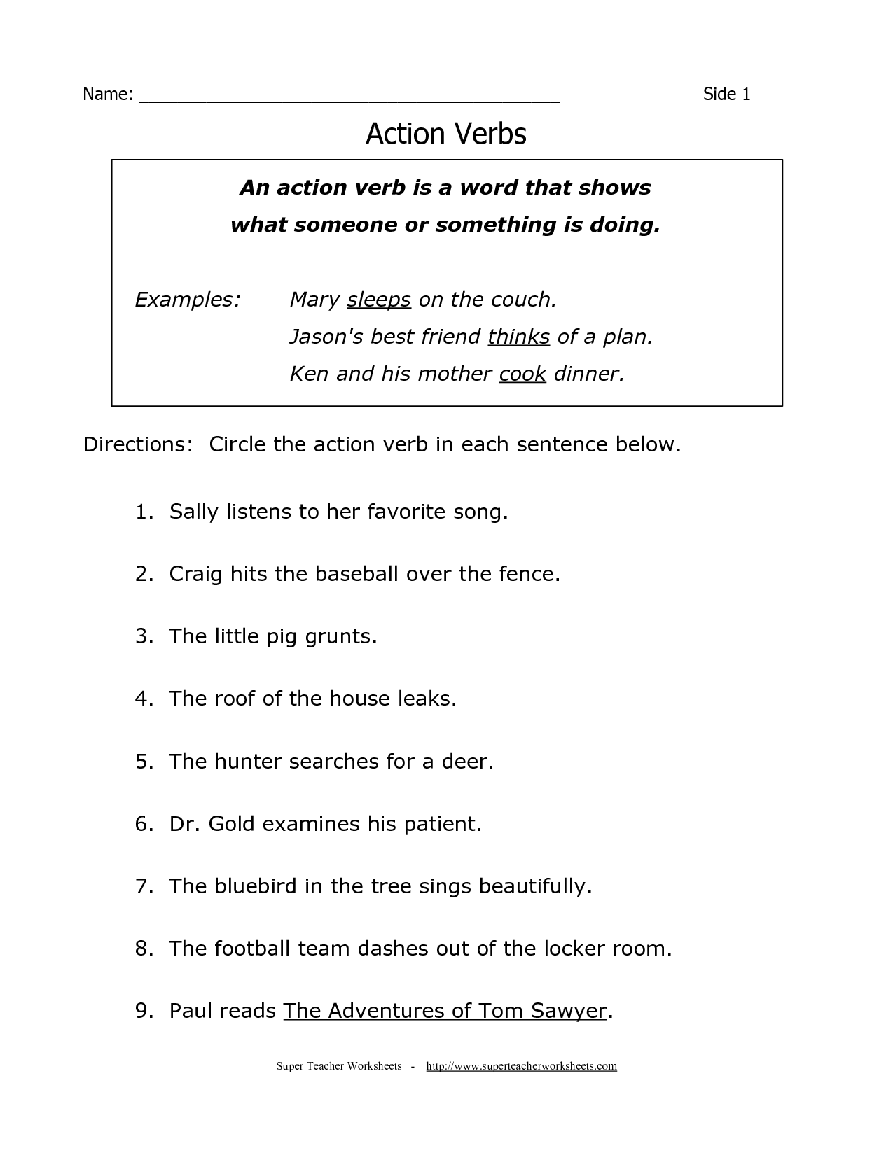 Punctuation Worksheet Grade 5 South Africa