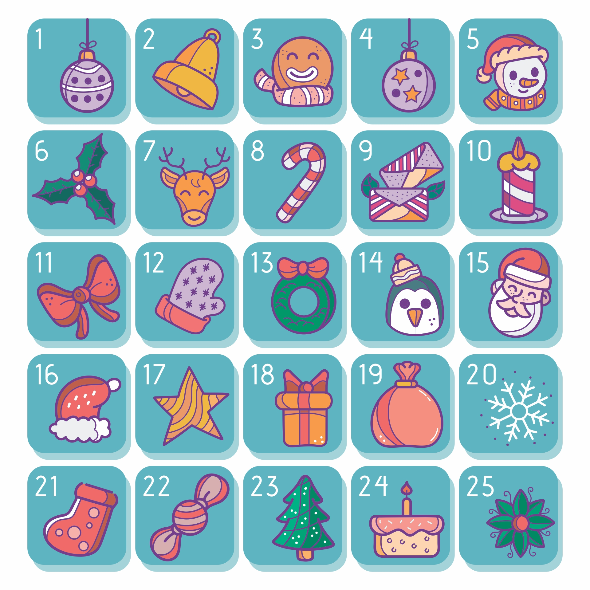 7 Best Images Of Advent Printable Worksheets