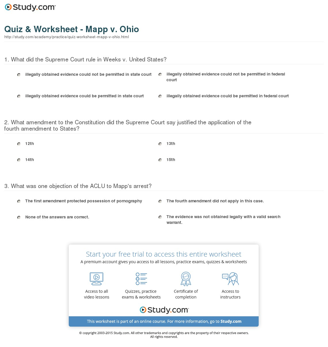 5 Best Images Of Ohio Printable Worksheets