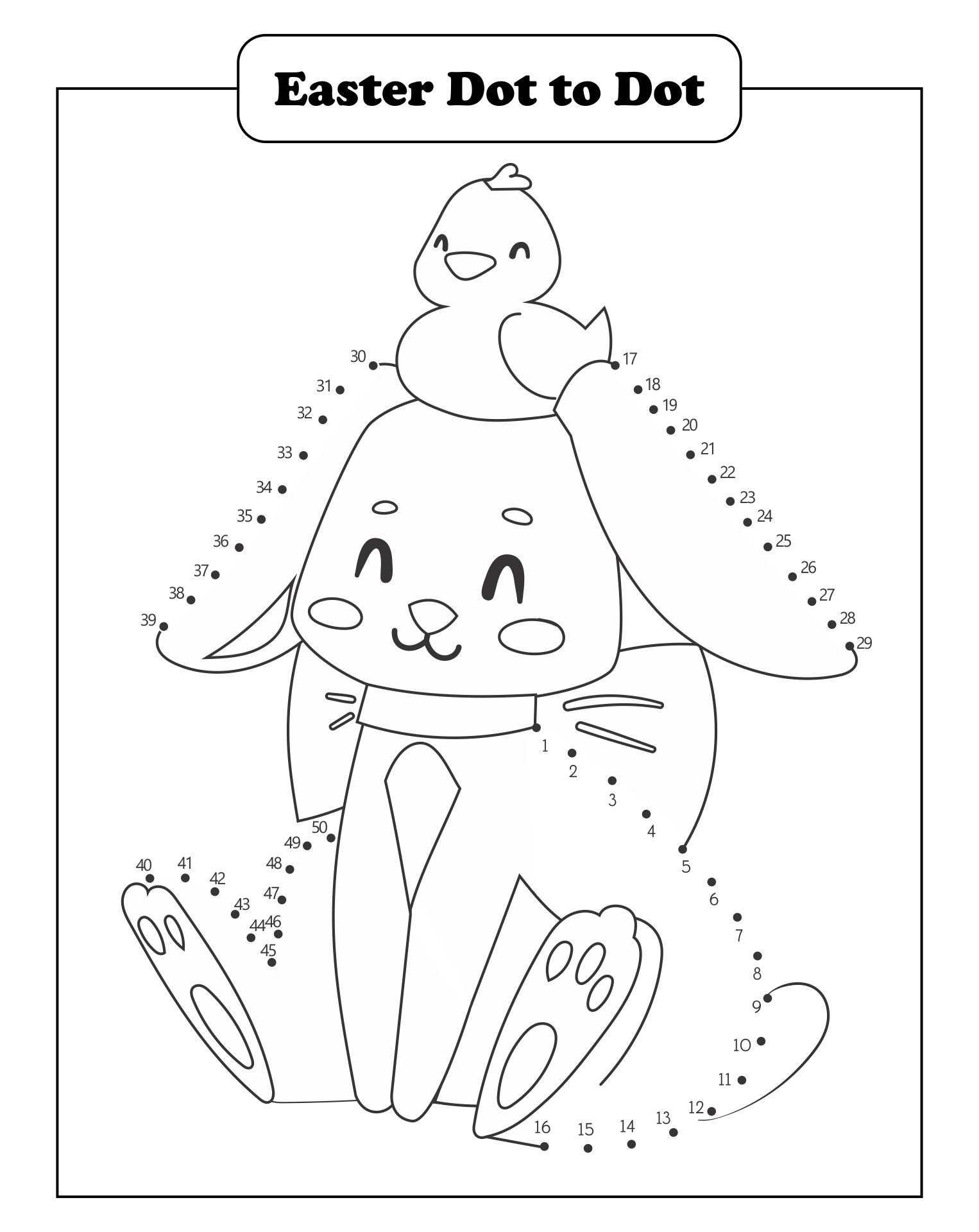 6 Best Images Of Free Easter Printable Worksheets