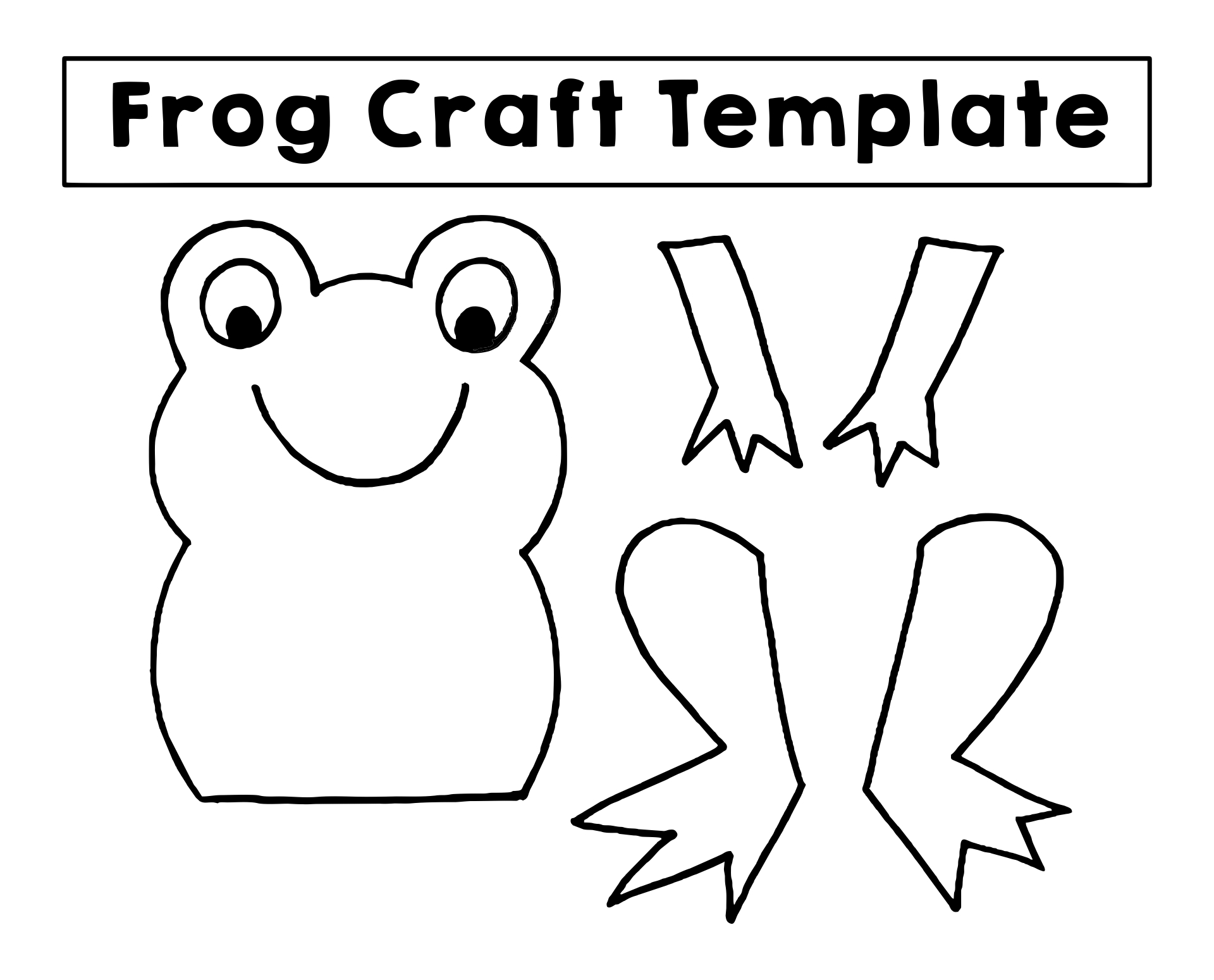 8 Best Images Of Free Printable Kids Christmas Crafts