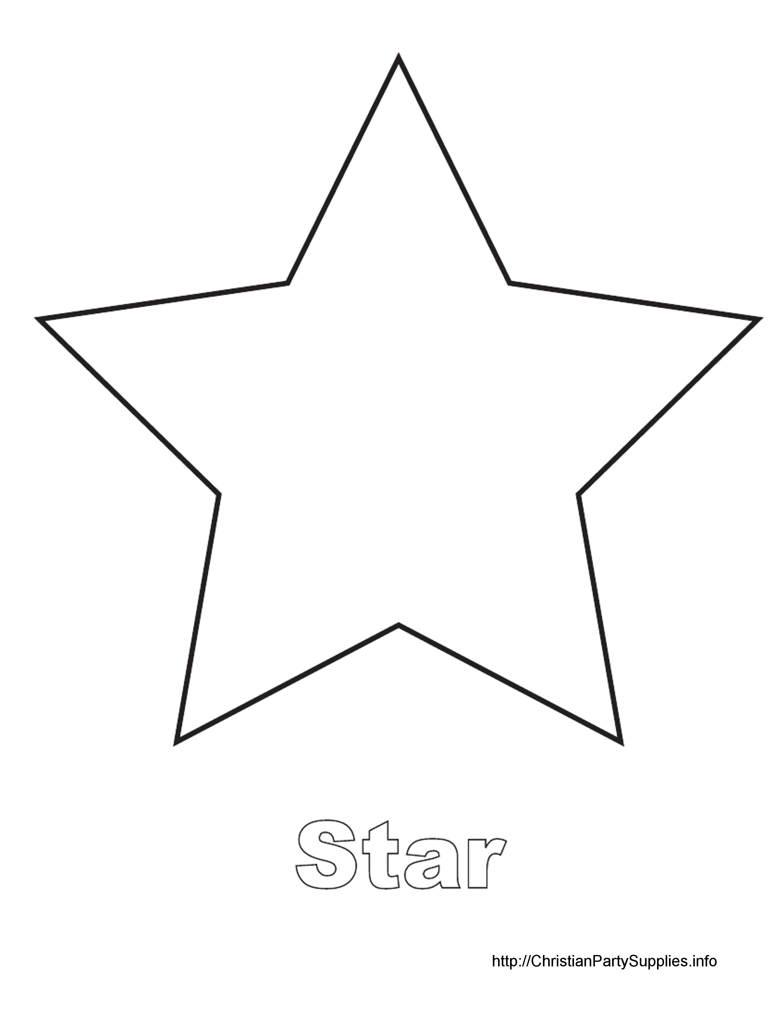 4 Best Images Of Star Cutouts Printable