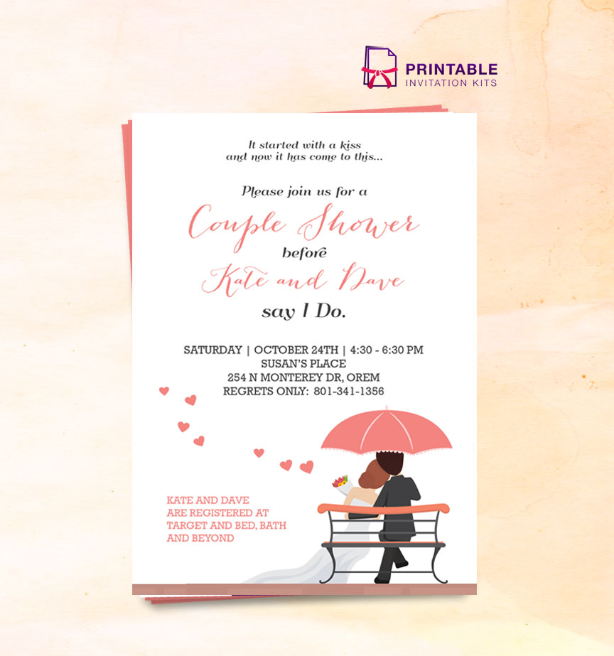 Basic Wedding Invitation Templates