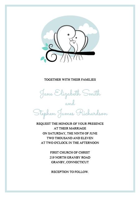 Convite de casamento para baixar