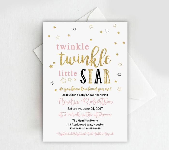 free baby shower or birthday invitation