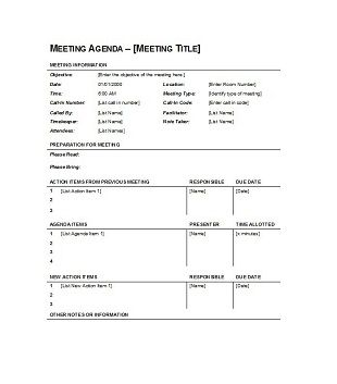 Go from meh to memorable with these simple meeting upgrades it's no secret that making meetings great is a challenge. 67 Free Printable Meeting Agenda Templates In Ms Word Format