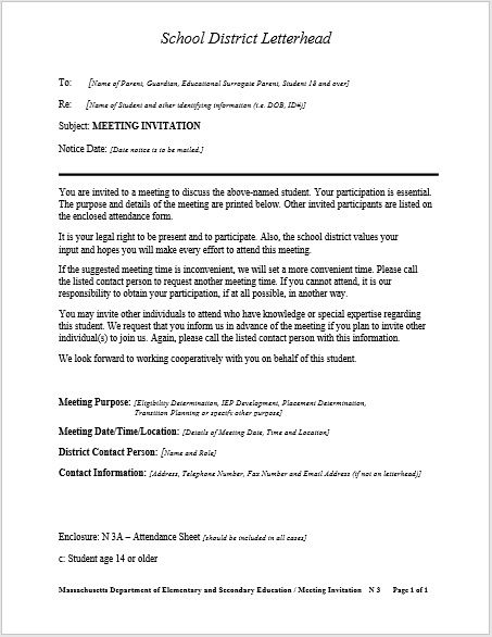 meeting request letter template 07