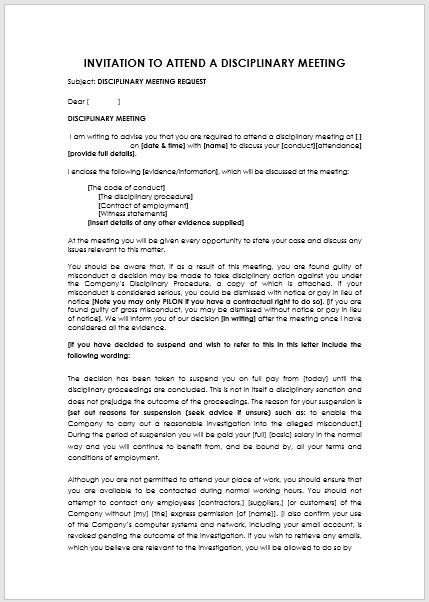 meeting request letter template 08