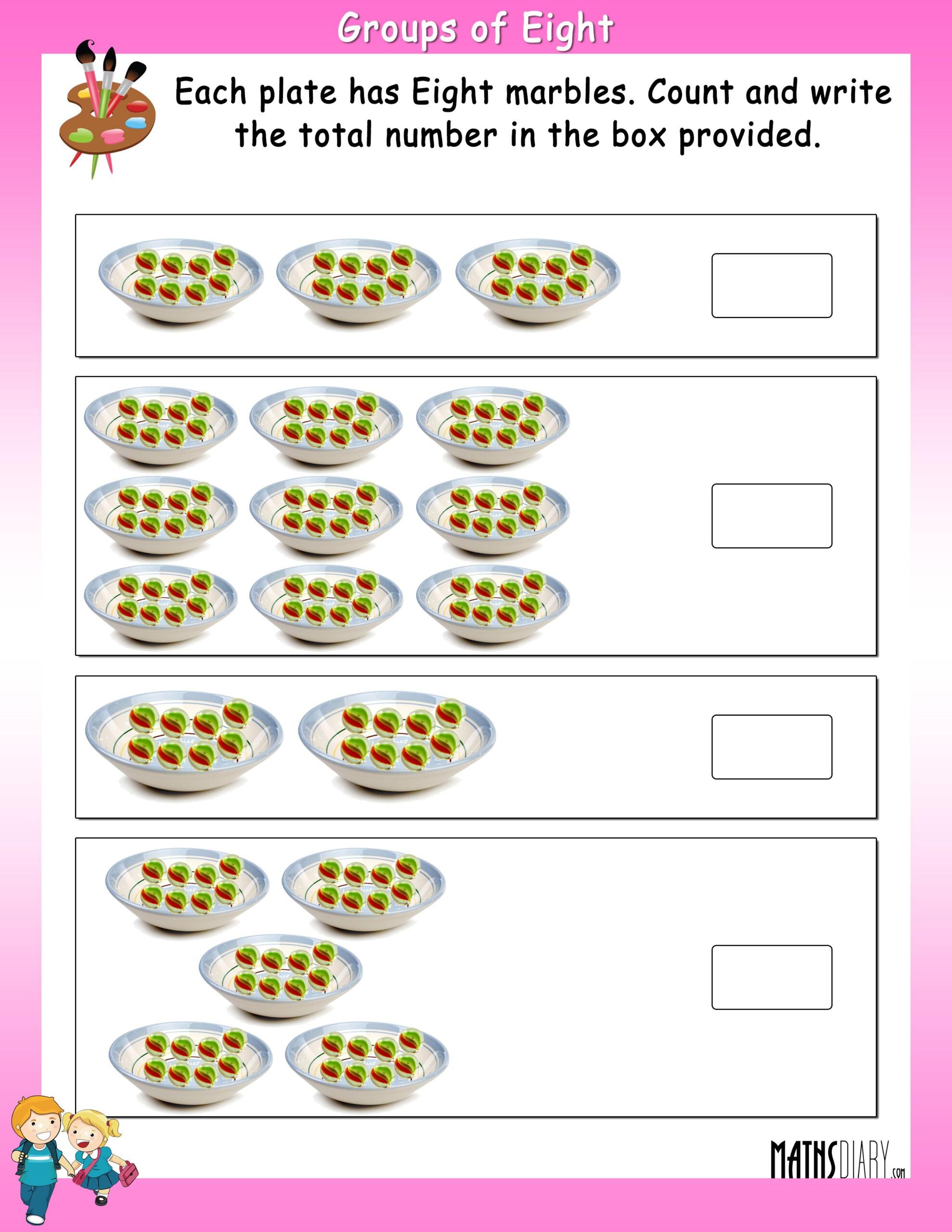 Worksheets Multiplication Grade 2