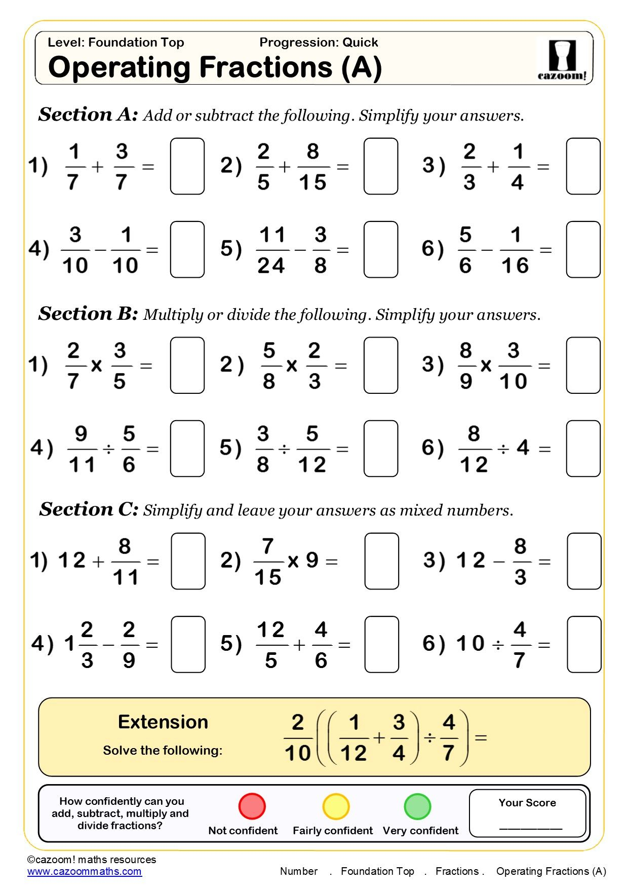 Multiplication Worksheets Ks3