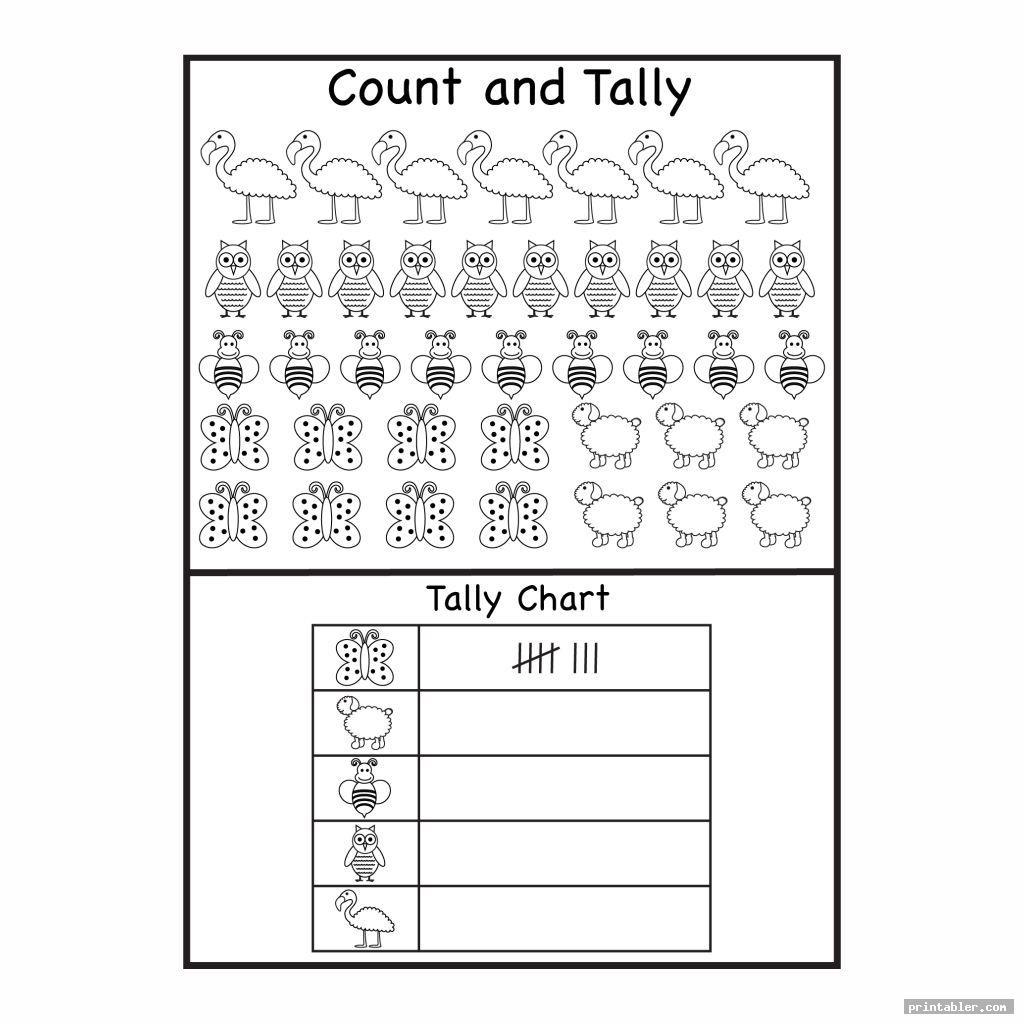 Printable Tally Sheets