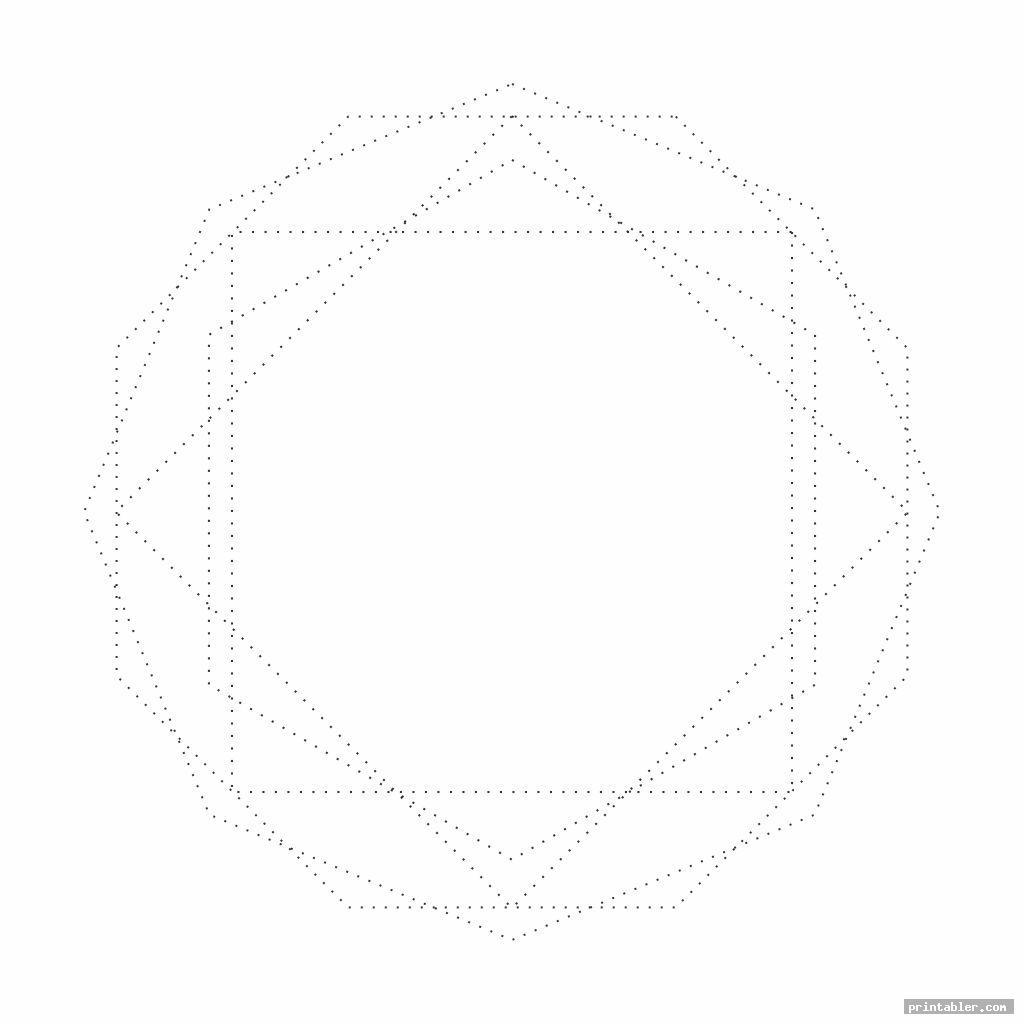 String Art Printable Worksheets