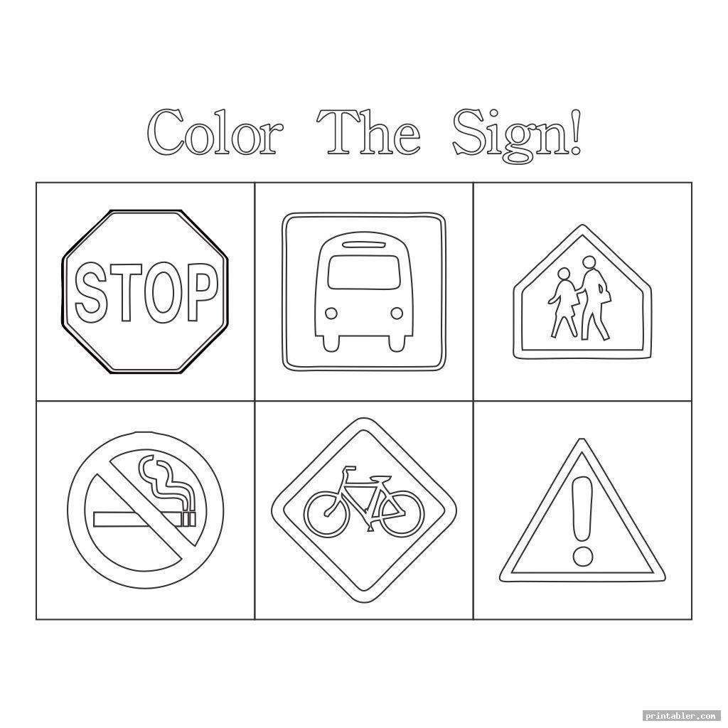 Survival Signs Worksheets Printable