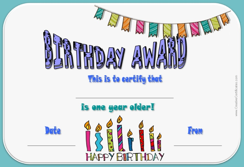 13 free sample birthday gift certificate templates for Birthday gift certificate template