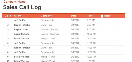 Sample Logs – Printable Samples