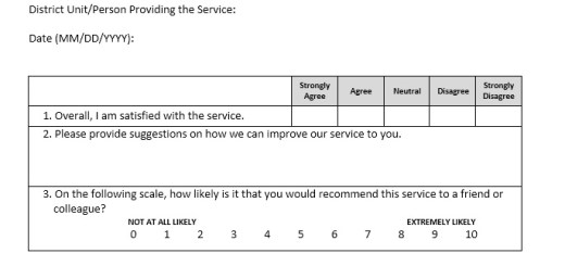 13 Free Sample Bank Customer Survey – Printable Samples