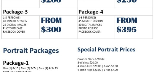 Price List Format Archives  Printable Samples