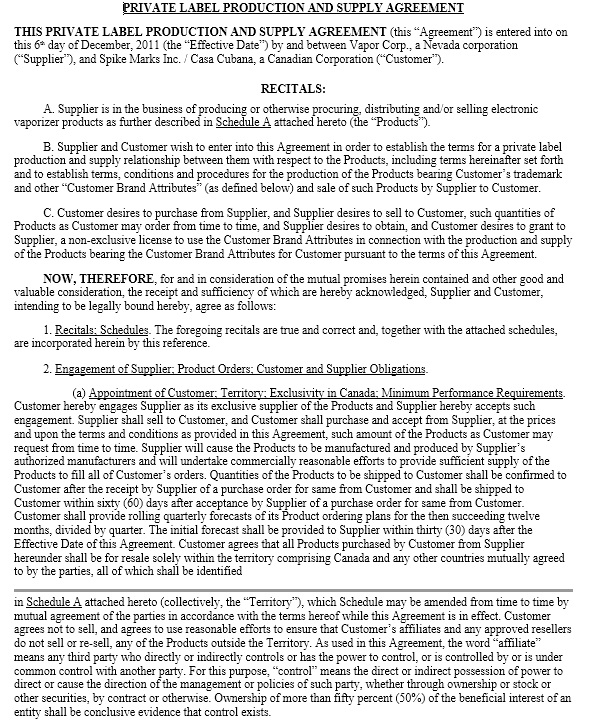 white label agreement template.html