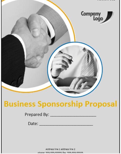 12 Free Sample Sponsorship Proposal Templates - Printable Samples