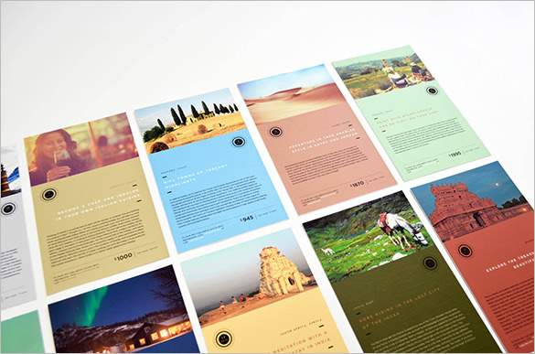 Free Sample Travel Brochure Templates  Printable Samples