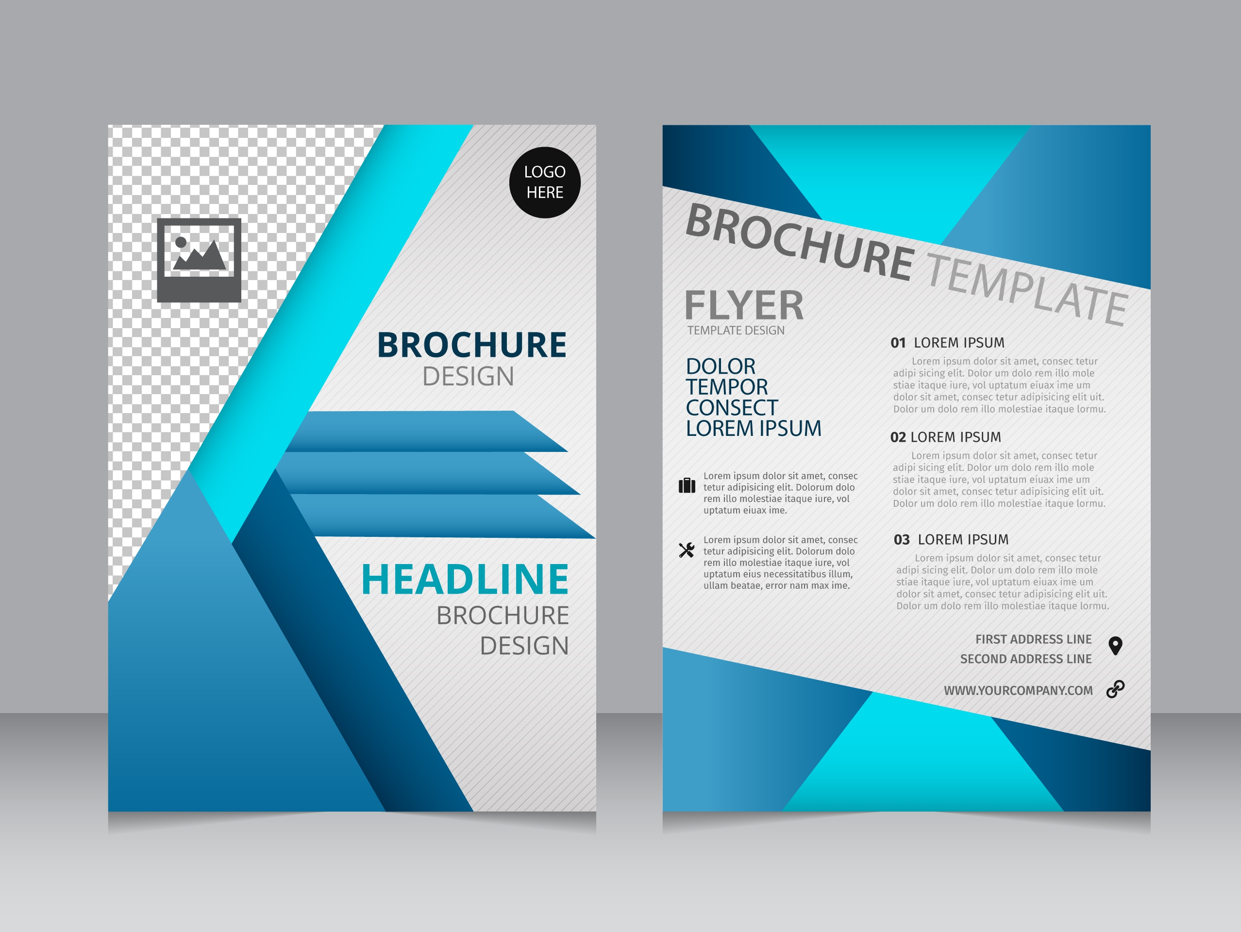 11 free sample travel brochure templates printable samples for Free brochure psd templates download