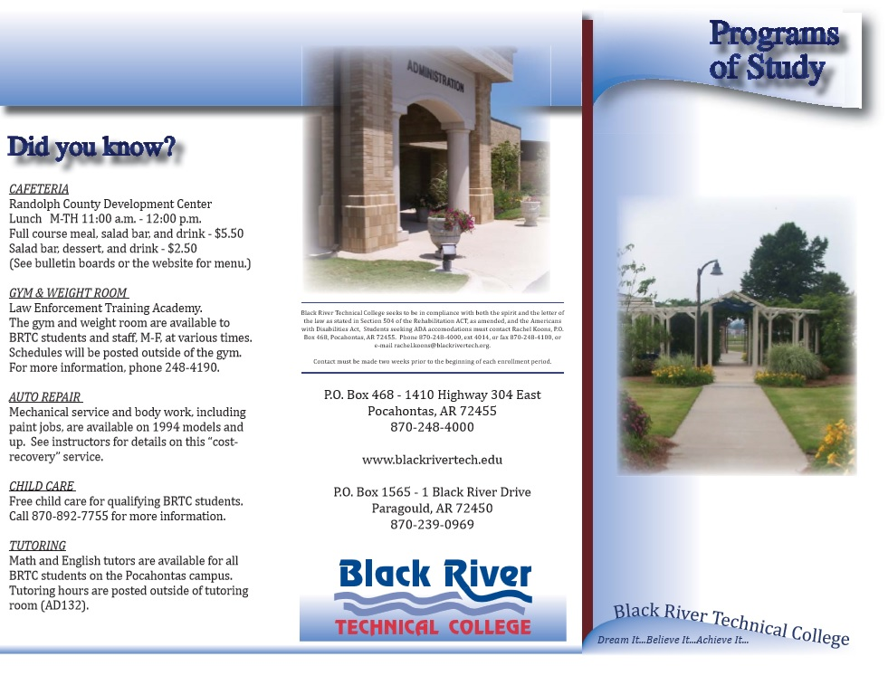 Here Is Preview Of Another Sample Educational Brochure Template Created  Using MS Word,
