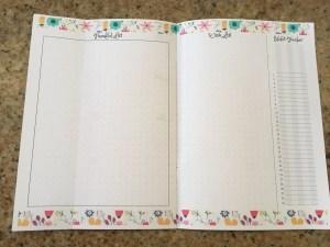 June habit tracker, June bullet journal layout, Dutch doors, June bujo ideas, bujo inspiration