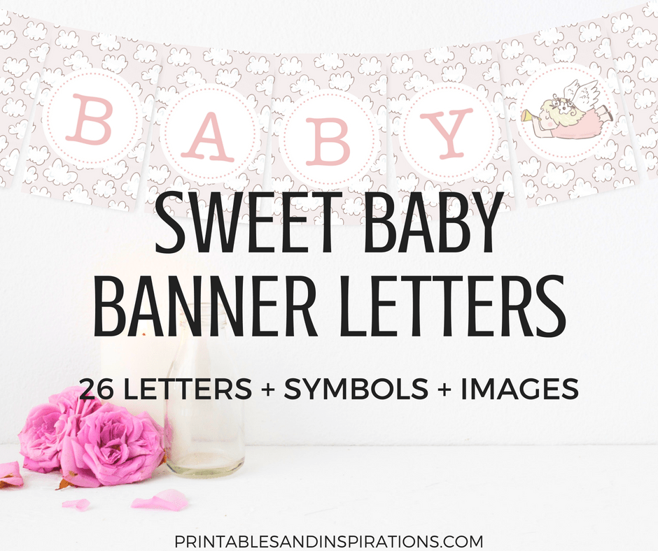 It's just a picture of Impertinent Free Baby Shower Printables Decorations