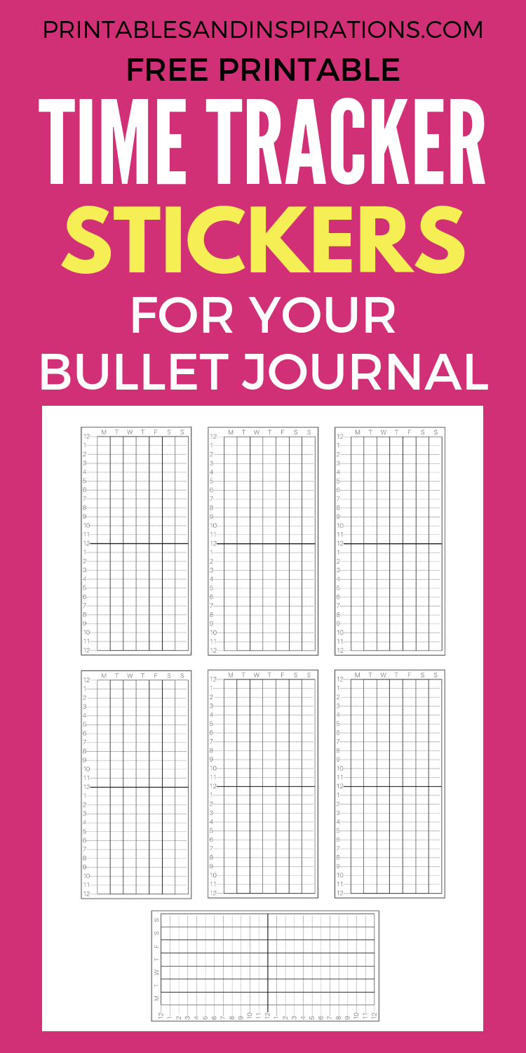 image about Sleep Tracker Printable identify Totally free Printable Period Tracker For Your Bullet Magazine