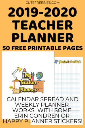 2019 Free Printable Planner Stickers And Calendars! - Printables and