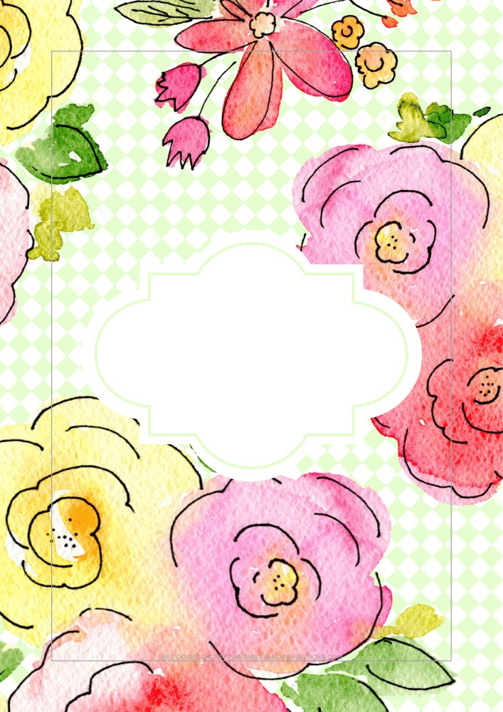 Free Printable Floral Planner Template - Bullet Journal Printables - free PDF download, monthly planner and weekly planner #freeprintable #printablesandinspirations #planneraddict #bulletjournal #journaling - SEE PREVIOUS POST TO DOWNLOAD ALL THE PAGES
