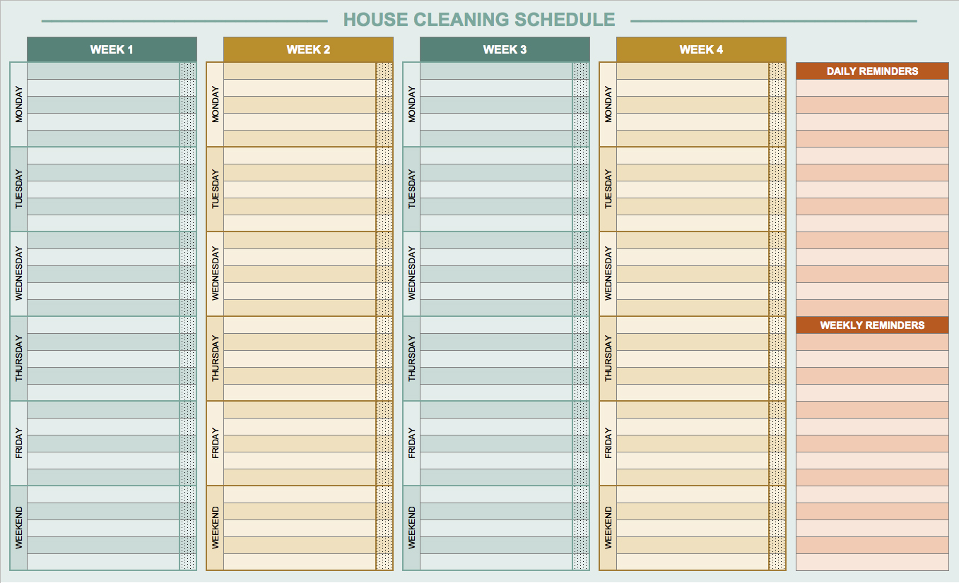 Ppm Schedule Template Excel