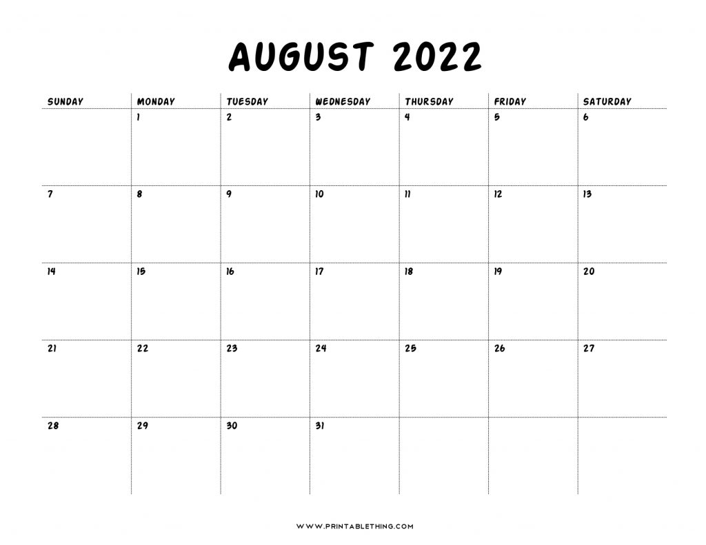 It is useful for quick referencing on dates, write down quick notes founder of lifehack read full profile sometimes it is handy to have a calendar for you. 20+ August 2022 Calendar   Printable, PDF, US Holidays, Blank