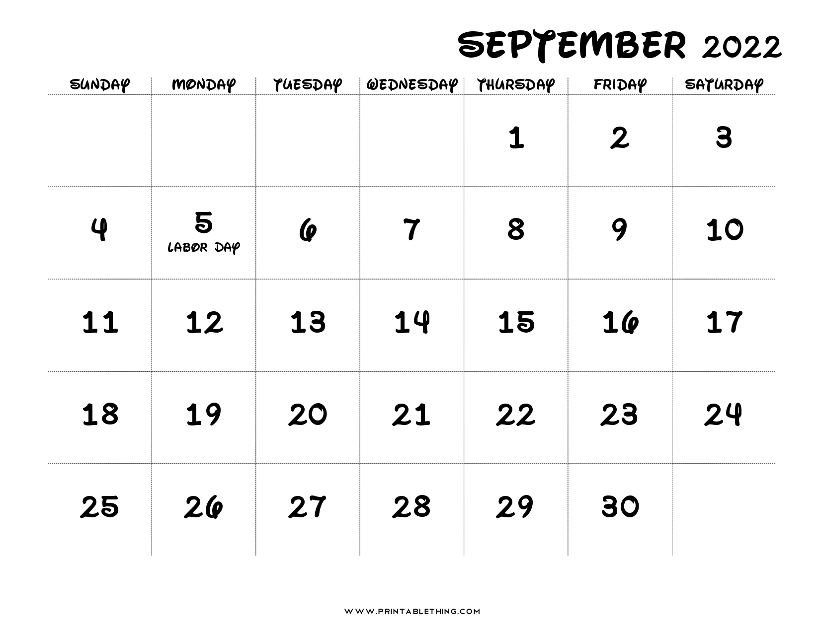 Sometimes it is handy to have a calendar for your current month on your cubical wall. 20+ September 2022 Calendar   Printable, PDF, US Holidays ...